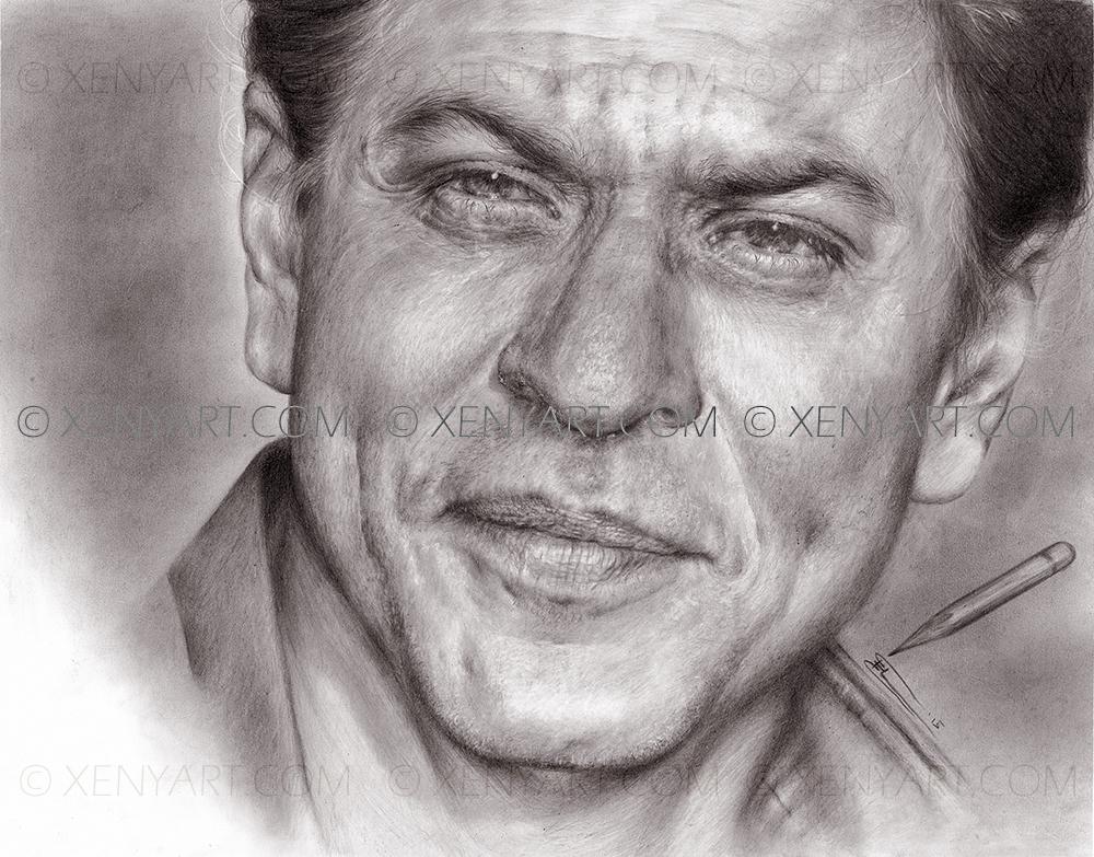 srk. illustration book. bollywood. shah rukh khan
