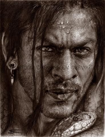 don. srk. illustration book. bollywood. shah rukh khan