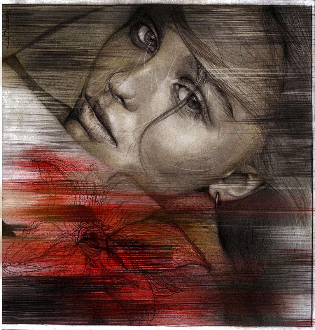 portrait lily rose